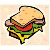 サンドウィッチの構図